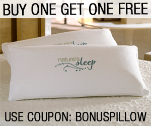 BOGO PILLOW COUPON