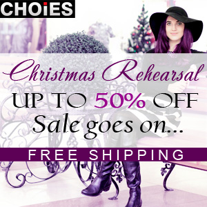 Christmas sale up to 50% off, free shipping
