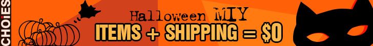 Halloween Celebration, free shipping storewide