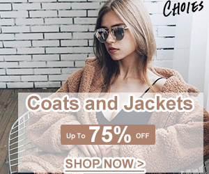 Winter Essentials!Coats and Jackets Collection! Warmhearted and fascinating! Let's party! Up to 75% OFF!