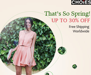 Spring New arrivals at Choies, up to 30% off