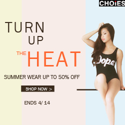 Summer Wear 50% Off at Choies, free shipping