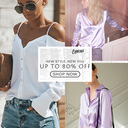 STYLISH & CHIC BLOUSES,LOADS OF FRESH NEW STYLES!Shop what's COOL with 80% OFF >>