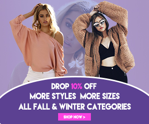 Drop 10% OFF ALL Fall & Winter Categories?Massive Styles and Sizes!