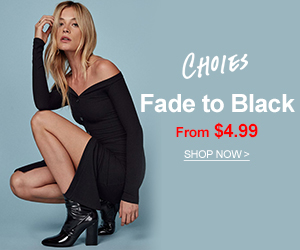 Discover the latest clothes at CHOiES. Shop women's black clothing, black dresses, black tops, black shoes.