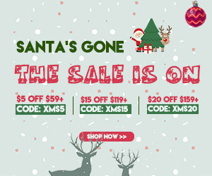 Don't Miss the After Christmas Sale!Last 24 hours! Big Blowout Sale: XMS5 XMS15 XMS20 (59-5,119-15,159-20)