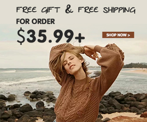FREE GIFT+FREE SHIPPING,Let Fashion Easy & Simple!