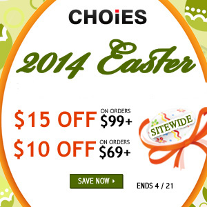 Choies Easter Sale