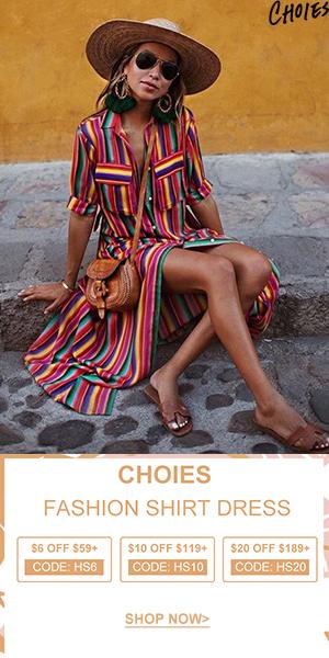 Dress Feast is so ready,enjoy Mega Deal!SAVE $20! Seize Vouchers: HS6 HS10 H20 (59-6,119-10,189-20)