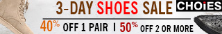 CHOiES 3-day Shoes Sale