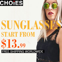 Choies Sunglasses Start From $13.99