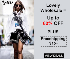 Click Frency Lovely Wholesale = Up to 60% OFF PLUS Freeshipping $15+  Time to make your life Sapid and Brilliant!