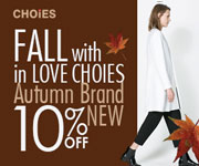 Autumn New-in 10% off at choies, free shipping