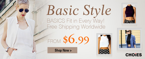Basic items sale from $6.99