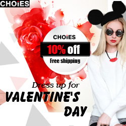 Valentine's Day Sale 10% off New Arrivals