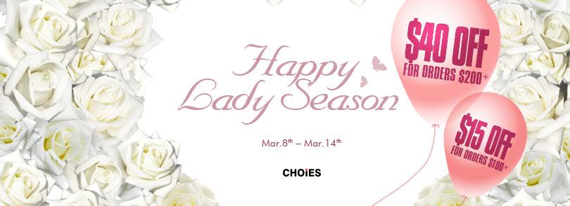 Ladies' Season & White Valentine's Day Promotion