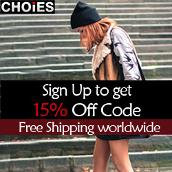Sign up for 15% off coupon, free shipping worldwide