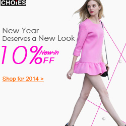 New Year Sale at Choies, 10% off