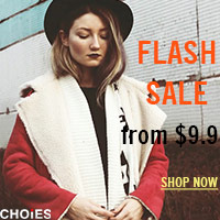 Choies Flash Sale, from $9.9+Free Shipping Worldwide