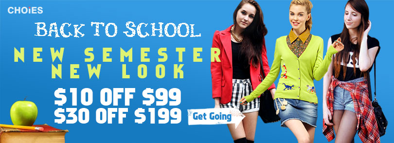 Back-To-School New-in 10% off