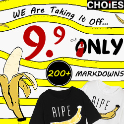 Choies Big Promotion $9.9 Only, Over 200 styles