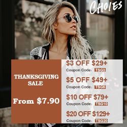 Thanksgiving Gift Guide!From $7.9, Up to $20 OFF!  Warmhearted Thanksgiving Gift Wishlist for your beloved!