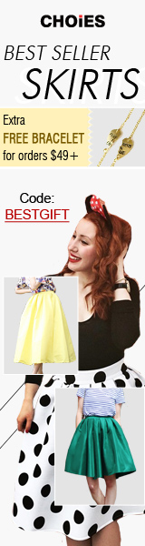 Best Seller Skirts Sale:Get One Free Bracelet For Orders Over $49,Code:BESTGIFT