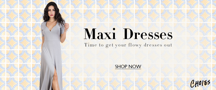 Maxi dresses up to 70% off