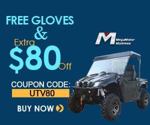 Buy UTV002 Get Free Gloves & Extra $80 Off. Coupon Code:UTV80.  Buy now!