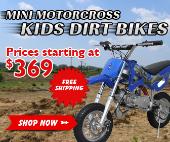 Mini Motorcross Kids Dirt Bikes Prices Start at $369. Shop Now