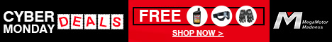 CYBER MONDAY DEALS START NOW SAVE UP TO 60% OFF FREE ENGINE OIL GLOVES AND GOGGLES SHOP NOW