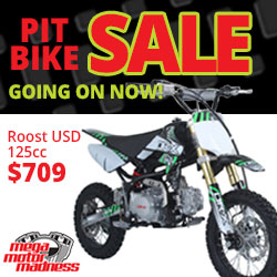 Pit Bike Sales Day