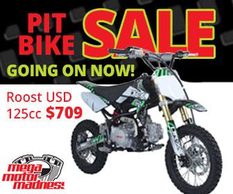 Pit Bike Sales Day