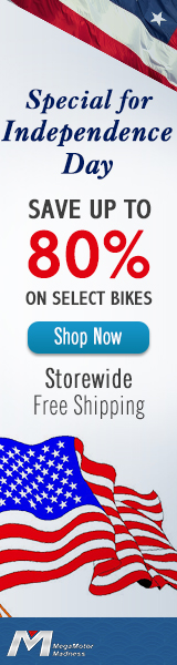 Special for Independence Day. Save Up to 80% on Select Bikes. Storewide Free Shipping. Sale Ends July 4. Shop Now