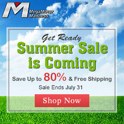 Get Ready, Summer Sale is Coming. Save Up to 80% & Free Shipping. Sale Ends June 20. Shop Now
