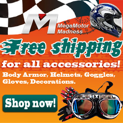 Free Shipping for all accessories!Body Armor, Helmets, Goggles, Gloves, Decorations. Shop now!