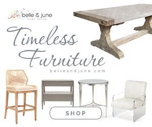 Shop luxury timeless furniture at www.belleandjune.com