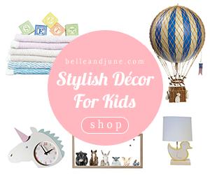 Shop Stylish Decor For Kids atwww.belleandjune.com