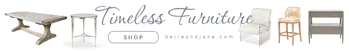 Shop luxury timeless furniture at www.belleandjune.com
