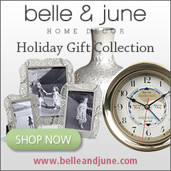 Shop over 1200 amazing gifts this holiday season at www.belleandjune.com
