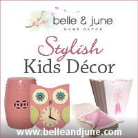 Stylish Nursery Decor www.belleandjune.com