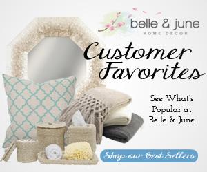 See What's Popular at Belle and June Home Decor.   belleandjune.com