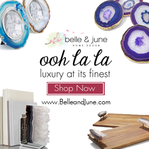 Ooh LaLa- Luxury At Its Finest. Shop exquisite home decor at www.belleandjune.com