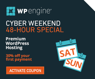 30% Off WP Engine