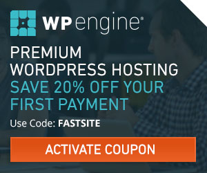 Get 20% Off Your First Year with WPEngine Hosting!