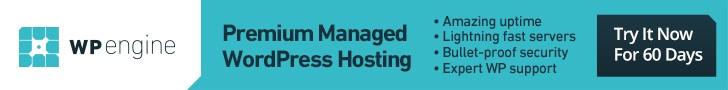 WP Engine - Premium Managed Wordpress Hosting