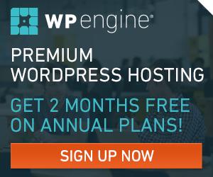 Premium WPEngine WordPress Hosting
