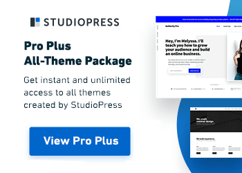 studio press pro plus all theme package