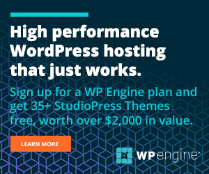 host your WordPress site with WP Engine