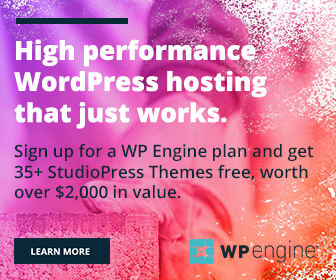 WP WordPress Hosting Banner